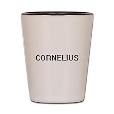 Cornelius Digital Name Design Shot Glass