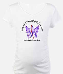 Congenital Heart Defect Butterfl Shirt