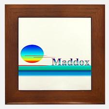 Maddox Framed Tile