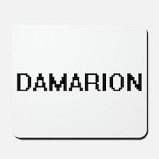 Damarion Digital Name Design Mousepad