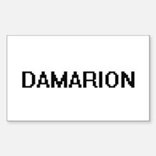 Damarion Digital Name Design Decal