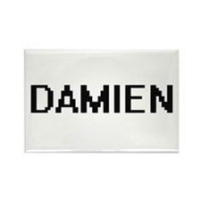 Damien Digital Name Design Magnets