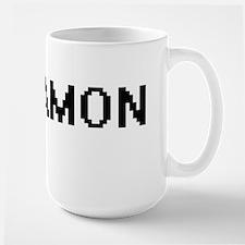 Damon Digital Name Design Mugs