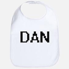 Dan Digital Name Design Bib