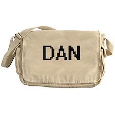 Dan Digital Name Design Messenger Bag