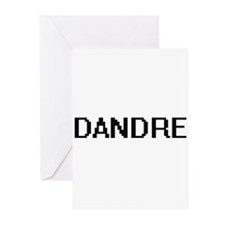 Dandre Digital Name Design Greeting Cards