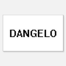 Dangelo Digital Name Design Decal