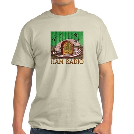 """HAM RADIO"" Light T-Shirt"