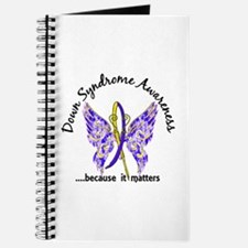 Down Syndrome Butterfly 6.1 Journal