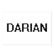 Darian Digital Name Desig Postcards (Package of 8)