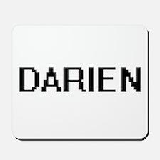 Darien Digital Name Design Mousepad