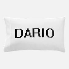Dario Digital Name Design Pillow Case