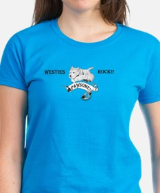 Westhighland White Terrier Paw Tee