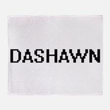Dashawn Digital Name Design Throw Blanket