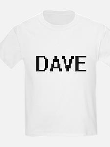 Dave Digital Name Design T-Shirt