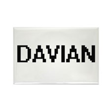 Davian Digital Name Design Magnets