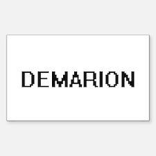 Demarion Digital Name Design Decal