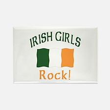 Irish Grils Rock Rectangle Magnet