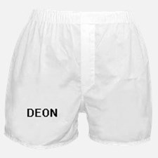 Deon Digital Name Design Boxer Shorts