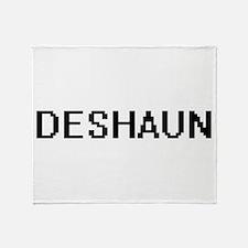 Deshaun Digital Name Design Throw Blanket