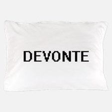Devonte Digital Name Design Pillow Case