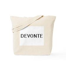 Devonte Digital Name Design Tote Bag