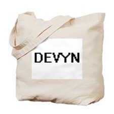 Devyn Digital Name Design Tote Bag