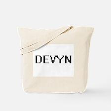 Devyn Digital Name Design Tote Bag