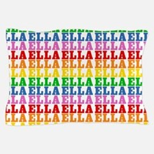 Rainbow Name Pattern Pillow Case