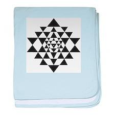 Sri Yantra baby blanket