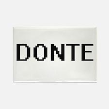 Donte Digital Name Design Magnets