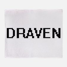Draven Digital Name Design Throw Blanket