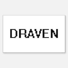 Draven Digital Name Design Decal