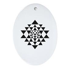 Sri Yantra Ornament (Oval)