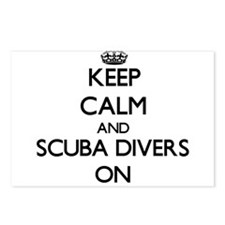 Keep Calm and Scuba Diver Postcards (Package of 8)