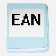 Ean Digital Name Design baby blanket