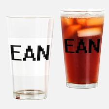 Ean Digital Name Design Drinking Glass