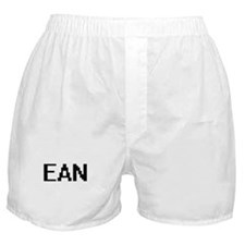 Ean Digital Name Design Boxer Shorts