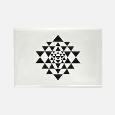Sri Yantra Magnets