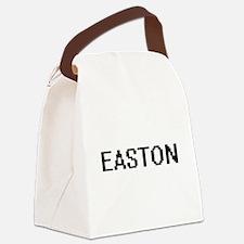 Easton Digital Name Design Canvas Lunch Bag