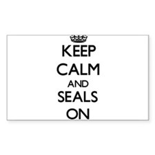 Keep Calm and Seals ON Decal