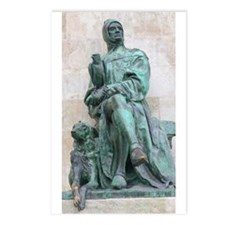 Falconer and Deerhound Postcards (Package of 8)