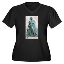 Falconer and Deerhound Plus Size T-Shirt