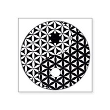 Yin Yang Flower of Life Sticker