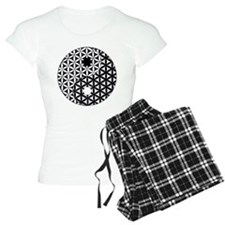 Yin Yang Flower of Life Pajamas