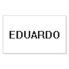 Eduardo Digital Name Design Decal