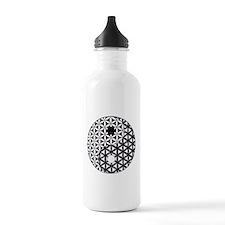 Yin Yang Flower of Lif Water Bottle