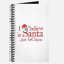 I Believe In Santa Journal