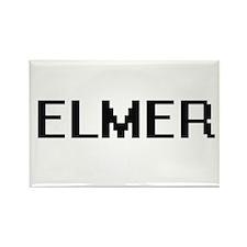 Elmer Digital Name Design Magnets