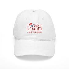 I Believe In Santa Baseball Cap